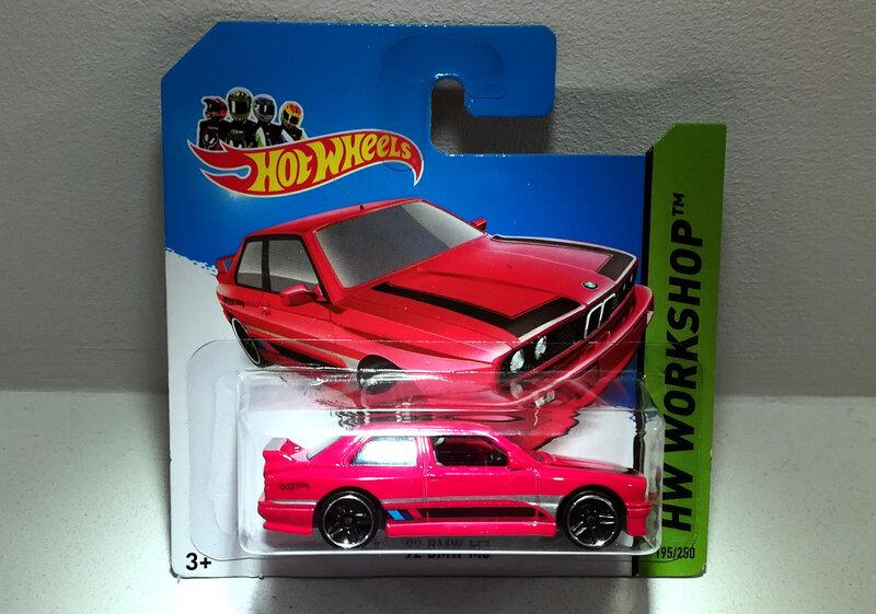 Bmw M3 de 1992 (Hotwheels)