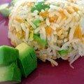 Riz végétarien