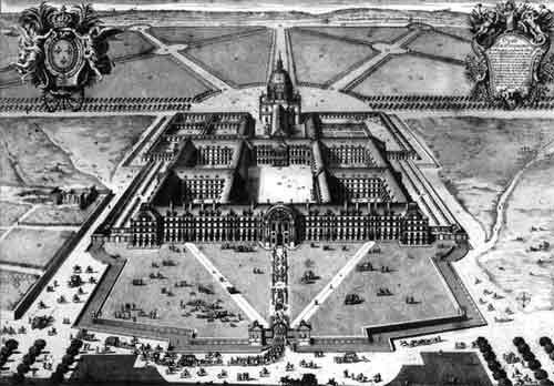 Invalides sous louis XIV 1683