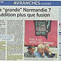 Avranches: affirmations normandes, à deux pas de la bretagne !