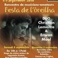 Festa de l'oreilha, 4 et 5 septembre