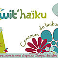 Le twit'haïku