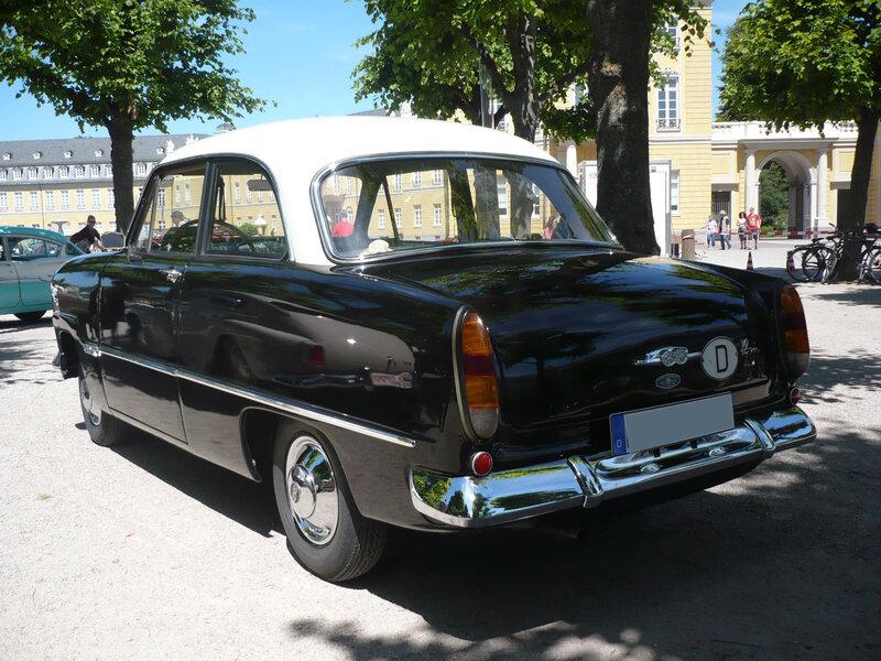FORD Taunus 12m berline 1958 Karlsruhe (2)