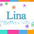 Joyeux anniversaire lina