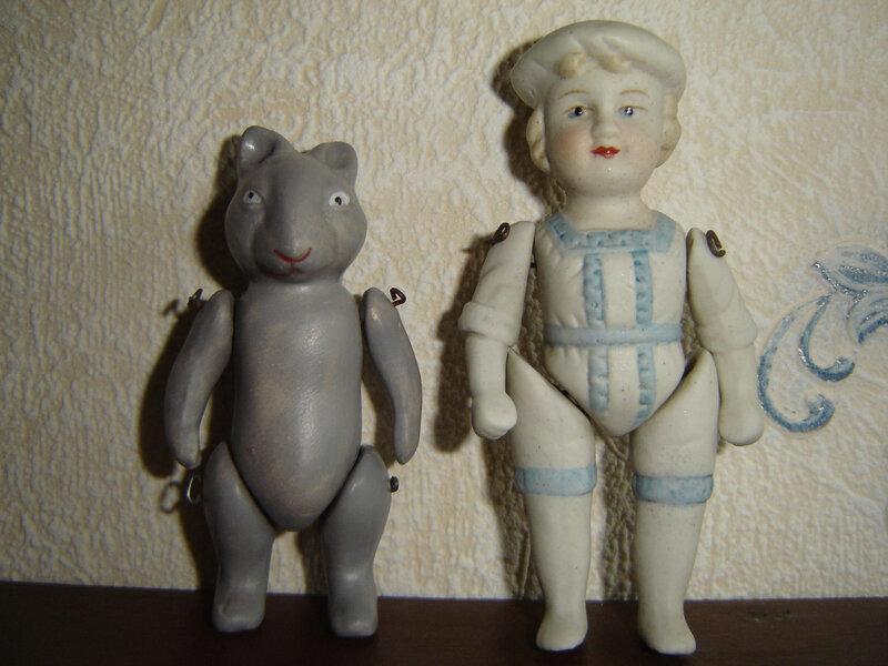 poupées biscuit