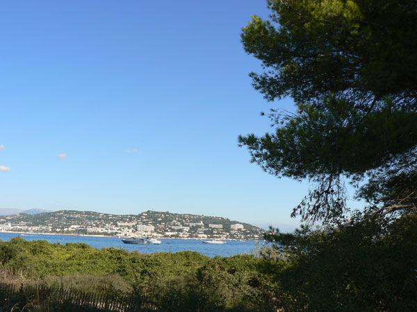 017 Cannes vue des Iles