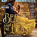 Beauty & the beast - images du film pour entertainment weekly