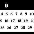 Retour des calendriers...