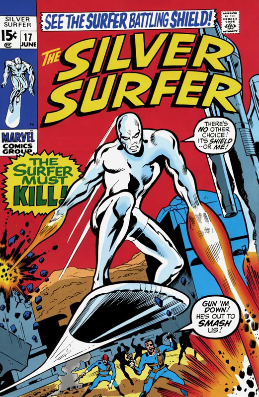 silver surfer 1968 17