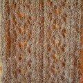 Détail Mist Lace scarf