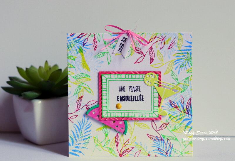 Inspiration colorée d'été !