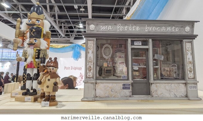 Pain d'épices stand salon csf 2019 - blog marimerveille
