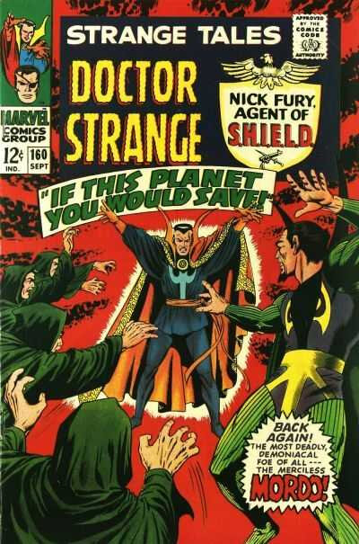 strange tales feat dr strange & nick fury 160