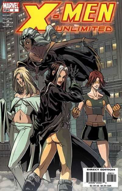 x-men unlimited 2004 06