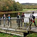 Le groupe 1 passe le pont