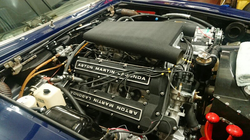 Moteur Aston Martin Lagonda de Michael