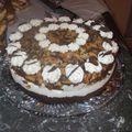 Biscuit mousse mascarpone et noix de coco