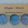 Magnet capsule Lin Mandarine