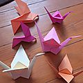 Mes petits animaux en origami