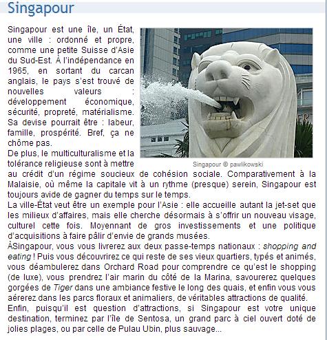 3 - SINGAPOUR
