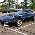 Chevrolet corvette C4 convertible (Rencard Burger King aout 2012) 01