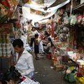 Au marché central...