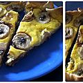★☆ tarte banane coco mangue (et pépites de chocolat) ☆★