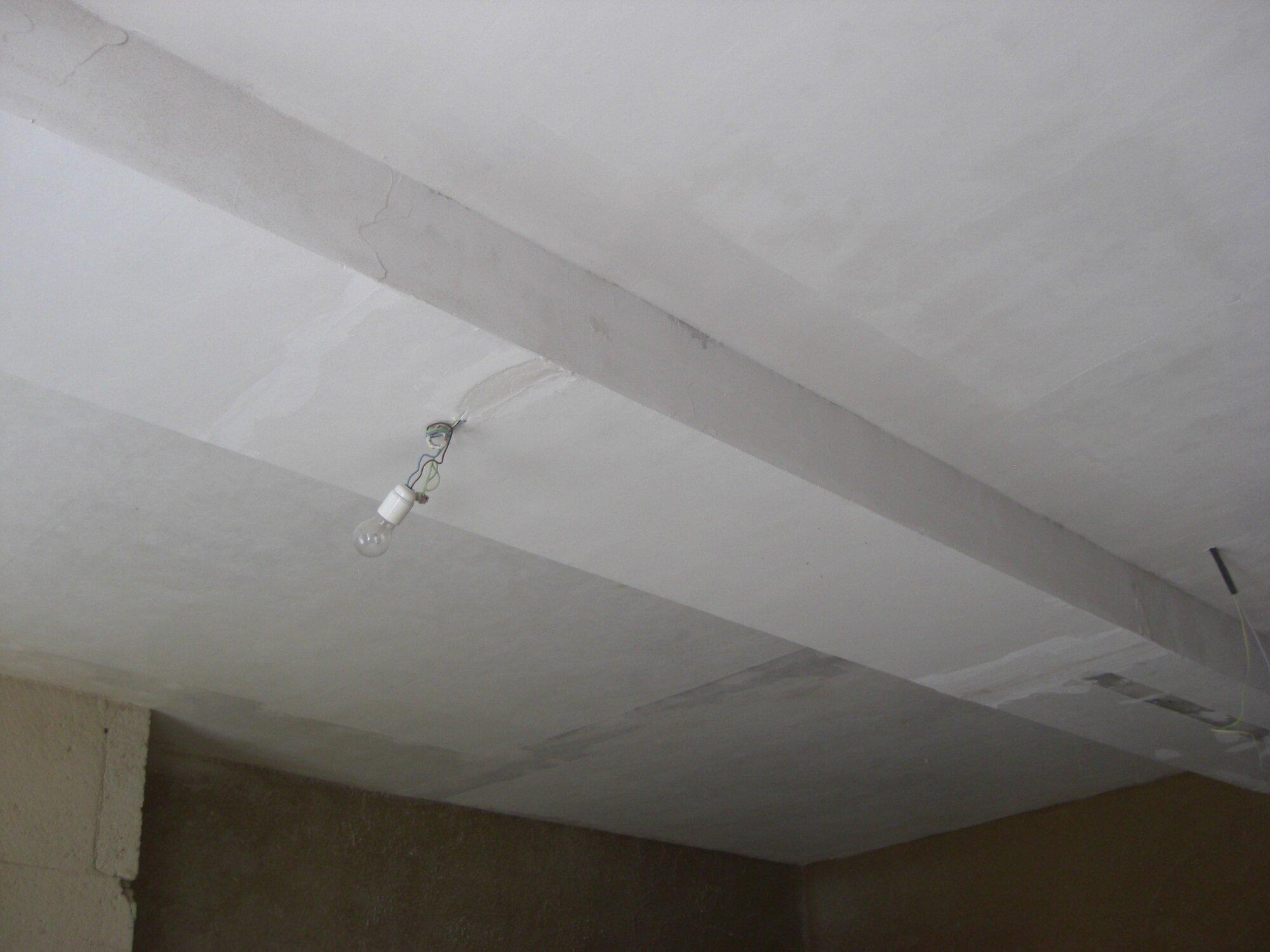 Toile À Enduire Plafond plafonds, 3 - les travaux de rénovation