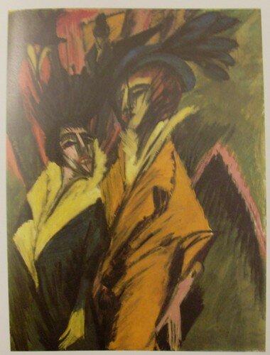 Ernst Ludwig Kirchner, Deux femmes dans la rue, v