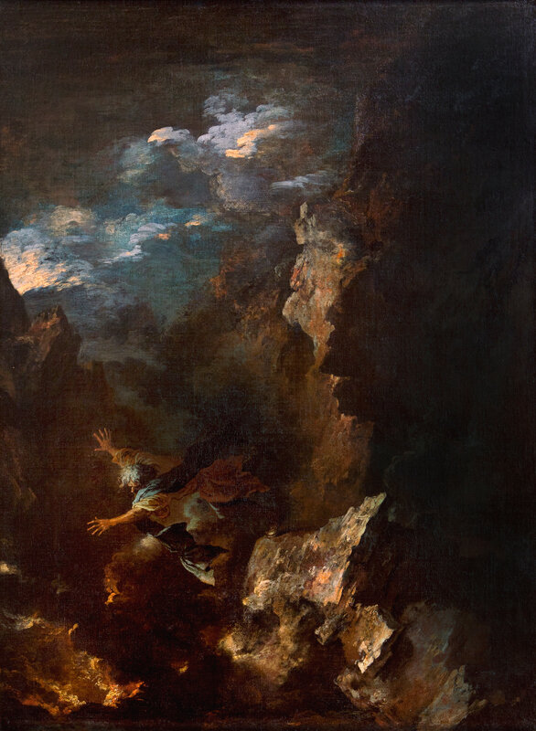 Salvator Rosa, The Death of Empedocles