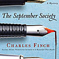 The september society, de charles finch
