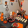 Sweet table d'halloween