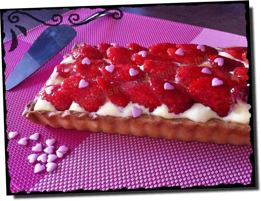Tarte fraises mascarpone