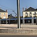 Haut de la tranchee et passage du tram