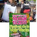 Festival de la voie verte 2011 - raon-l'etape 88 vosges - caricaturiste