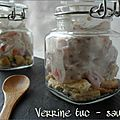 Verrines tuc - saumon