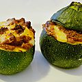 Courgettes farcies à bolozza