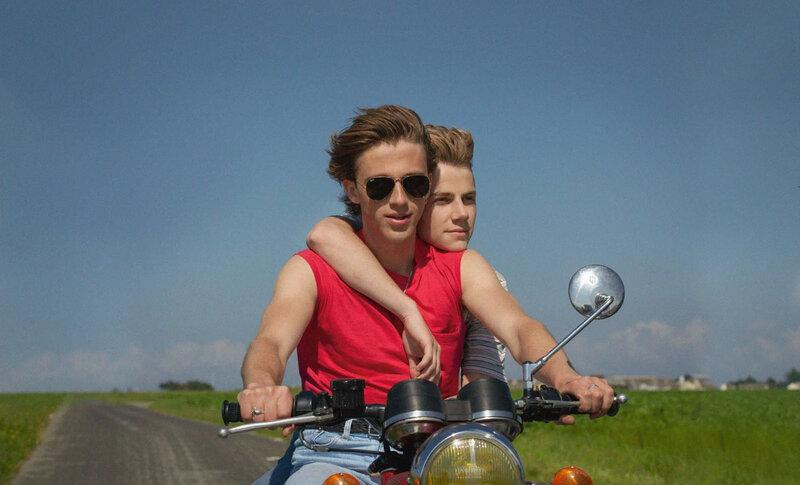 david et alex en moto