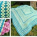 Plaid BB giant granny coton+bamboulene