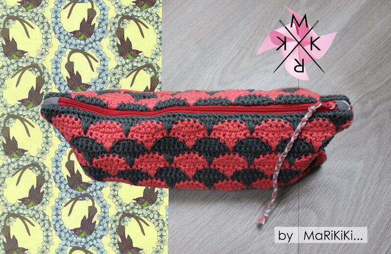Pochette tricot au crochet 02