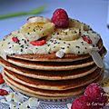Pancakes à la farine semi-complète