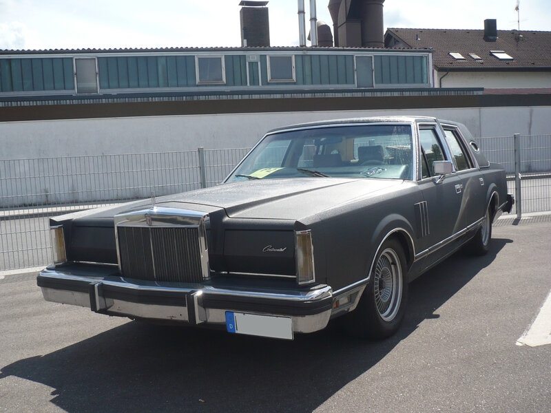 LINCOLN Continental Mark VI 4door Sedan Sinsheim (1)
