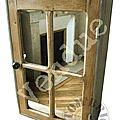 armoirette carreaux- vendue