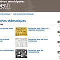 Quimper met en ligne son portail d'archives
