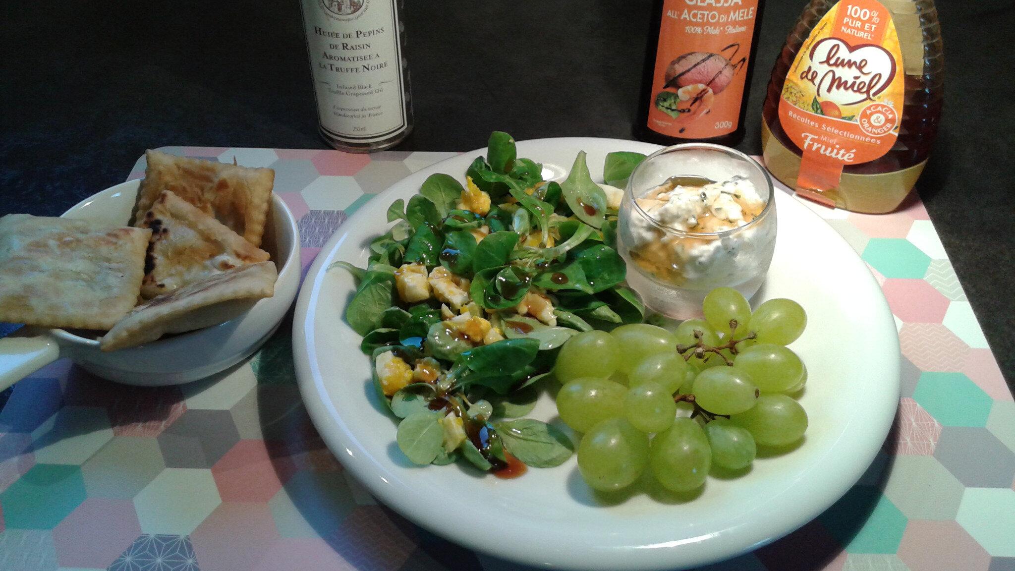 Salade sage et folle : Ricotta en salade