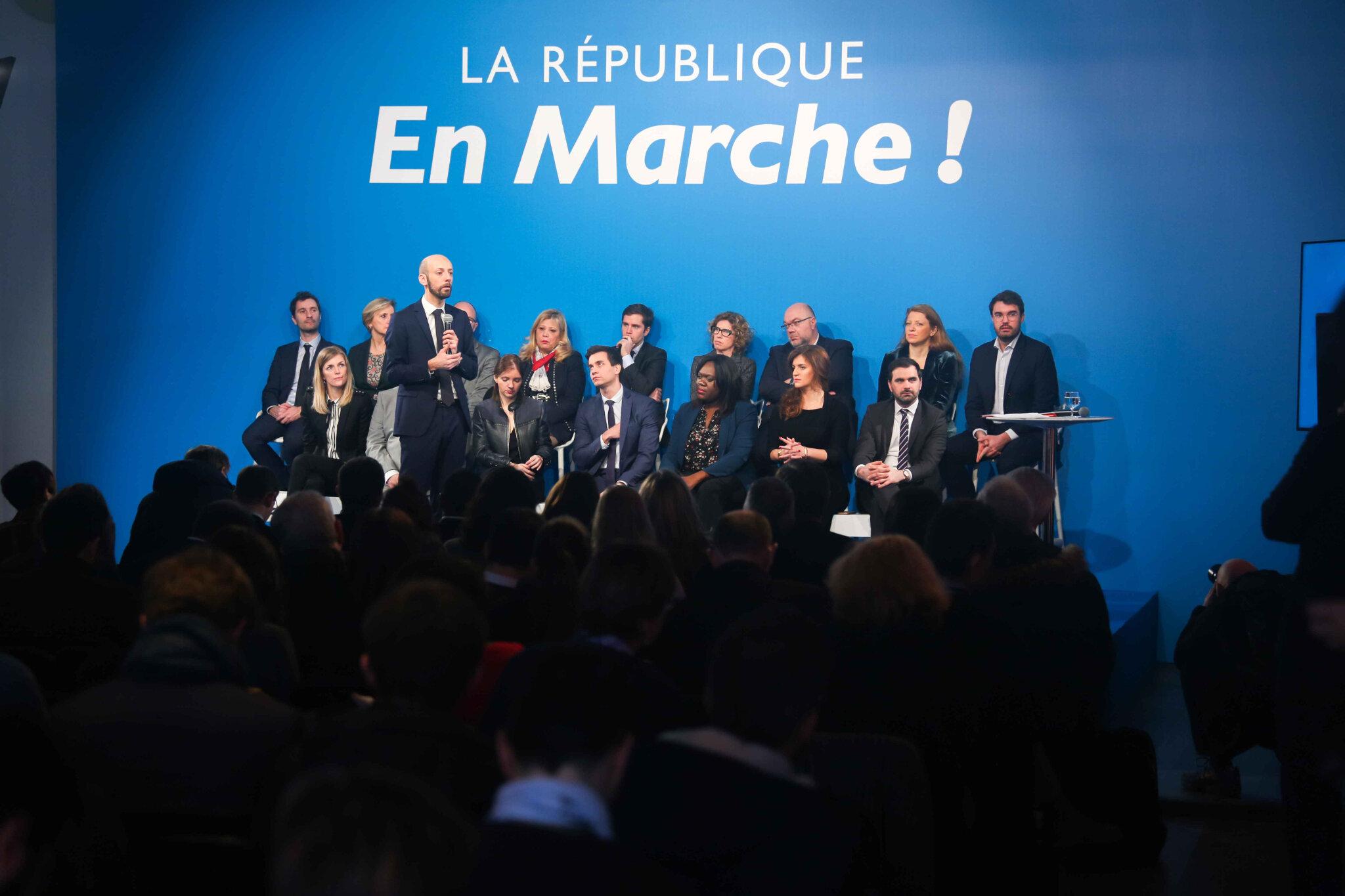 LREM se réorganise pour essayer de sortir de l'impuissance. © Michel Stoupak. Jeu 24.01.2019, 11h43m42.