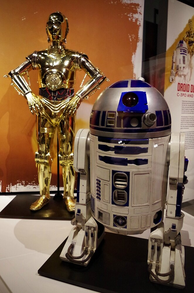 R2D2 C3PO Seattle EMP Star Wars