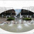 Jardin de l'hotel de ville après l'orage