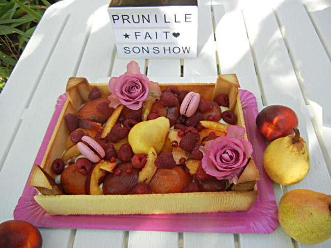 gateau cagette de fruits prunillefee 2