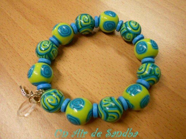 Bracelet élastique Anis (3)